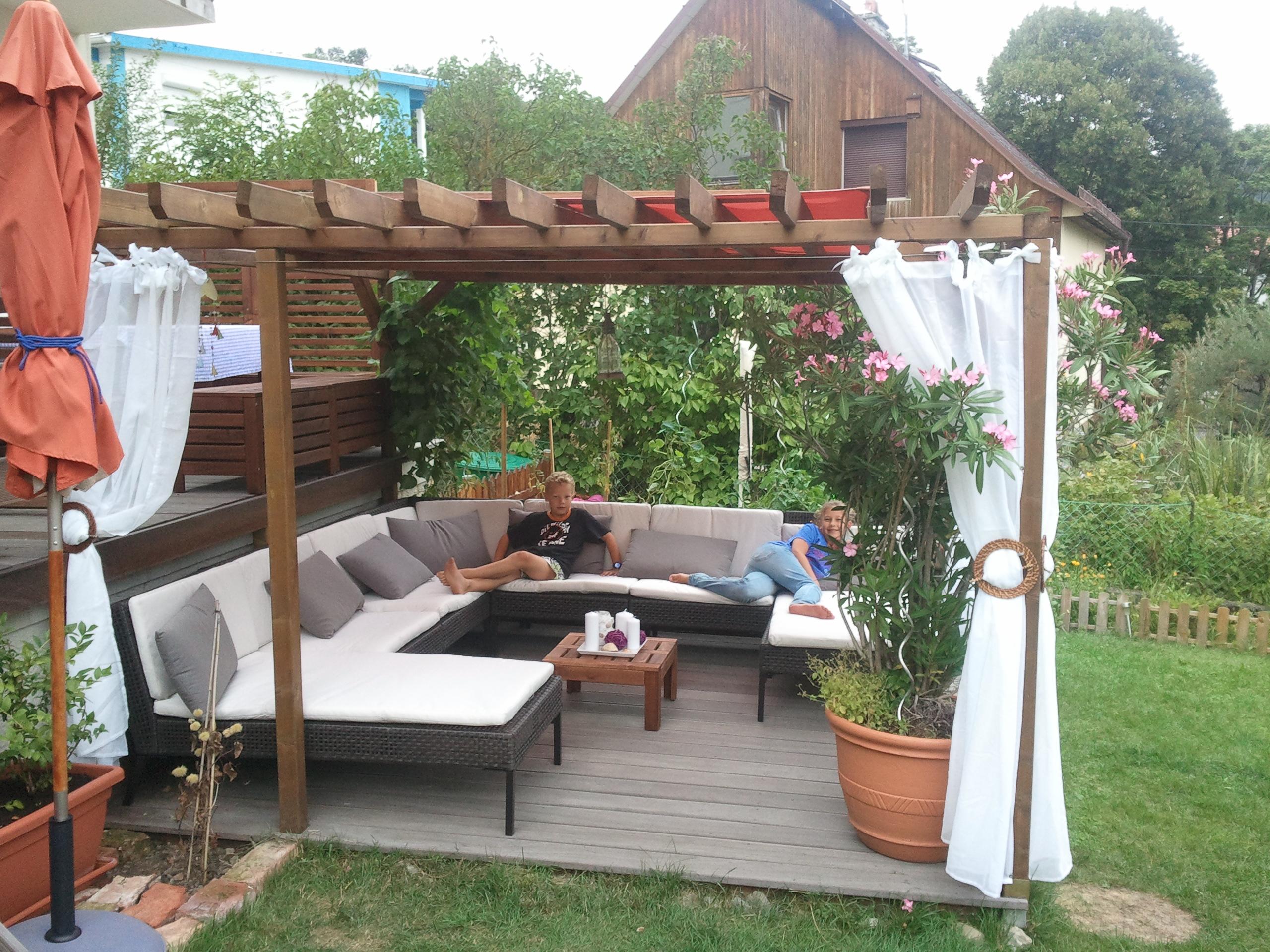 gartenlaube holz swalif. Black Bedroom Furniture Sets. Home Design Ideas
